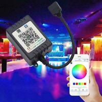 Mini WiFi Controller For RGB RGBW 5050 LED Strip Light Black Alexa N7F5 O0R9
