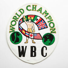 Vintage World Boxing Council WBC Patch World Champion