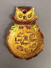 Vintage Las Vegas Owl Ashtray