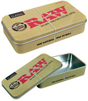 RAW Aluminum Metal Tin Case RYO Caddy -1 Case- (4.5 x 2.5 x 1)
