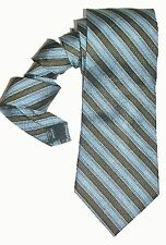 Axcess NEW Blue Black Striped Men's Neck Tie Silk $55 A2995