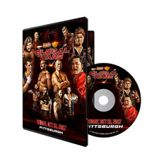 Official ROH Ring of Honor & NJPW Global Wars 2017 Pittsurgh Event DVD