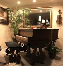 Art Deco Wm. Knabe and co. Ampico Player Baby Grand Piano includes piano rolls