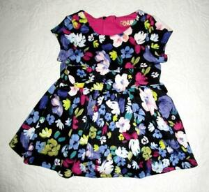 OSH KOSH GENUINE KIDS FLORAL DRESS & MATCHING PANTIES  Baby Size 12 Mo.* NWT