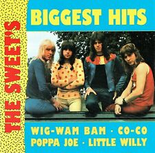 (CD) The Sweet - The Sweet's Biggest Hits - Wig-Wam Bam, Little Willy, Co-Co