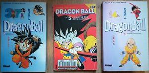 Los 3 Manga Drache Kugel Akira Toriyama Band 14, 37 + Monthly Nr. 5