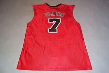 Chicago Bulls Gordan #7 Jersey Shirt Mens Womens Medium