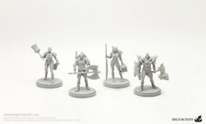 4 x KIT ARMURE GORM  - KINGDOM DEATH MONSTER miniature rpg jdr GORM ARMOR