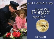 2011 Anzac Day – The Royal Australian Air Force $1 Coin in Card Perth Mint