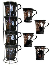 NECA Harry Potter STACKABLE MUGS Coffee DUMBLEDORE'S ARMY Hermione Ron Giftware