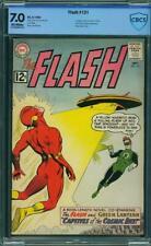 Flash 131 CBCS 7.0 (CGC peer) -- 1961 -- 1st Green Lantern Crossover