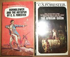 The African Queen Bantam 3rd H2873 Hornblower and Hotspur 1st H2616 Cs Forester