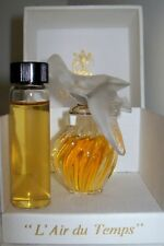 Vintage L'Air du Temps Perfume/Parfum~Nina Ricci~1/2 oz Vial~15 ml~A RARE FIND
