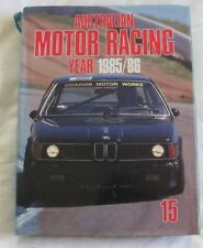 Australian Motor Racing Year #15 1985 1986 hc/dj