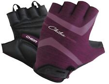 Chiba Lady Super Light Lady-Line Fingerless Mitt in Purple - Large Bike Cycling