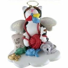 My Calico Cat Kitten Kitty Is An Angel Ornament Gift From God Christmas Present