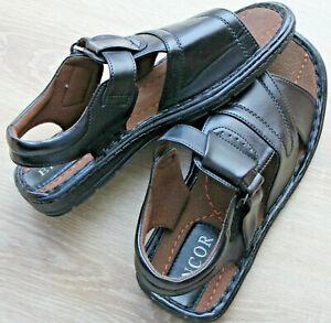 Herren Sandalen, Herren Freitzeitschuhe, Herren Schuhe Größe 41 in Schwarz
