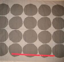 "Marimekko Kivet Pattern Fabric Polka Dot Dark Gray 1 yd  x 56""  FREE Ship"