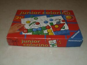 Ravensburger Junior Colorino Game - With Extra Pieces