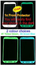 Samsung Galaxy S4 *Matte* Glow in the Dark Body Decal Skin sticker (Front Only )