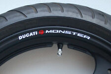 DUCATI MONSTER WHEEL RIM DECALS m600 m695 m900 m750 st2