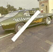 1960s Drag Racing- Wilson Pontiac's-1968 1/2 Ram Air Pontiac GTO-ROYSTER-FORTIER