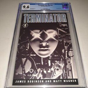 Terminator: One-Shot #nn CGC 9.6 NM+ (1991 Dark Horse) Matt Wagner Cover & Art