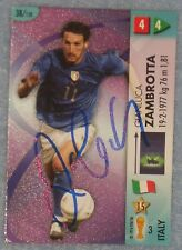 Gianluca sabe firmado Trading Card (Italia)