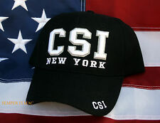 NEW YORK CSI Crime Scene Investigation POLICE PD HAT CAP NY WOWH PIN UP GIFT 911