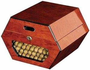 Cuban Wheel - Cambodian Rosewood - Humidor with Minor Imperfections & Blemishes