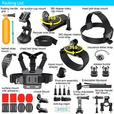 Gopro Accessories Sport Camera Kit Accessory For GoPro 5 4 3+3 2 1 sj5000 sj6000