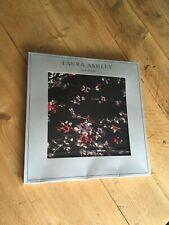 Laura Ashley Silk Scarf Floral 100% silk BNIB