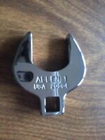 """ALLEN 20564, 1"""" Opening, Chrome Crowfoot Wrench, 3/8"""" Drive"""