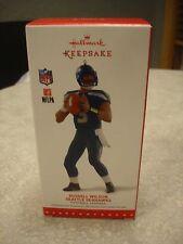 Hallmark Keepsake NFL Russell Wilson Seattle Seahawks Christmas Ornament 2015