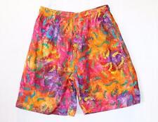 SARI AMERTA Brand Retro Rainbow Tie Dye Casual Shorts Size S/M BNWT #TD19