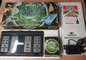 RARE VINTAGE VIDEOMASTER STAR CHESS TV ELECTRONIC GAME + BOX 1979 - Excellent
