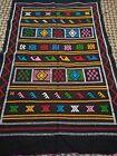 Moroccan sabra cactus rug 138cm by 87cm silk handmade carpet area rug