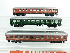 BC939-1# 3x Märklin H0/AC Personenwagen etc: 36 201 DSG + A4üm/11853 DB, 2. Wahl