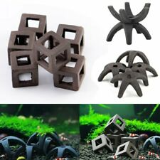 5Pcs Aquarium Fish Tank Breeding Cave Ceramic Shelter Crab Shrimp Hiding  UK U1