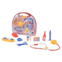 Kids Doctor Playset Medical Set Medic Doctor Nurse Kit Toy Role Play Carry Case