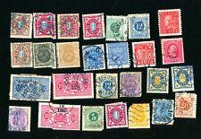 Old stamps of Sweden.