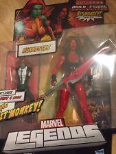 Marvel legends Red She Hulk action figure Hulkettes Hit Monkey BAF Hasbro 2012