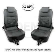 Land Rover Defender TDCI/PUMA 3rd row rear forward facing seats XS 1/2 leather