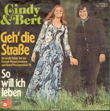 EUROVISION 1972 45 TOURS GERMANY CINDY & BERT