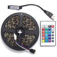 LED Strip Light 5050 SMD RGB Bar TV Back Lighting Kit + USB Remote