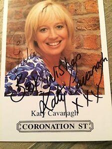 6x4 Hand Signed Photo Coronation Street Julie Carp - Katy Cavanagh