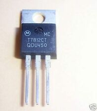 MOTOROLA 7812 POSITIVE VOLTAGE REGULATOR (10 PCS)