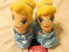 Disney Girls Slippers Size 5/6 Blue Toddler Children Kids