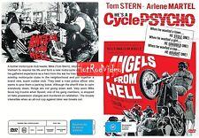 ANGELS FROM HELL.. (1968)  DVD Movie ..TOM STERN motorcycles biker