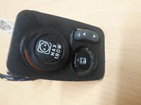 Fiat Panda 03-19 ELECTRIC FRONT WING MIRROR SWITCH CONTROL A223 (MISSING KNOB)